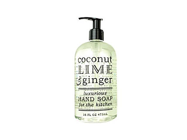 Coconut Lime & Ginger Hand Soap