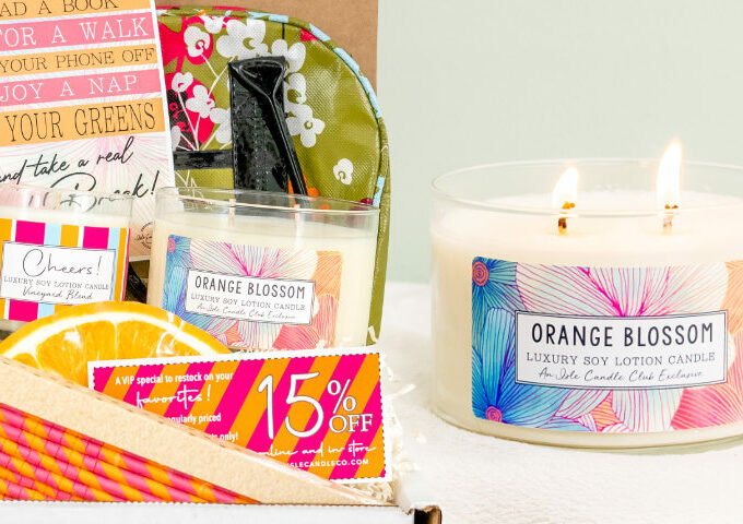isle Subscription Box – Monthly Candle Club ($75 value)