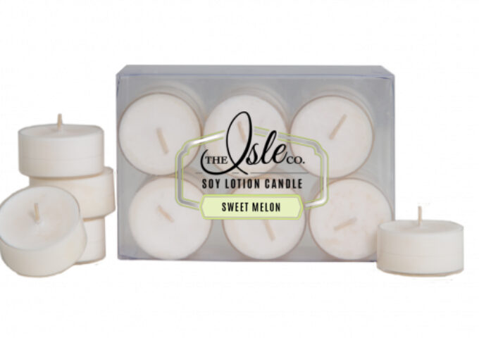 isle Sweet Melon Tealight Candles
