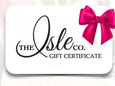 Isle e-Gift Card